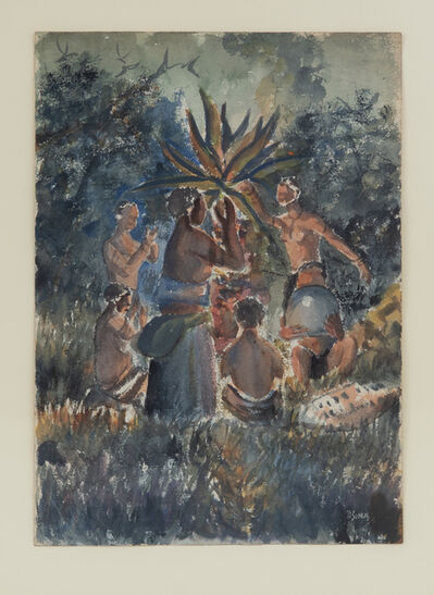 Durant Sihlali, 'The Mhlamba Dance', 1956