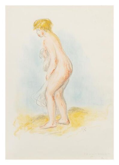 Pierre-Auguste Renoir, 'Baigneuse debout, en pied', 1869