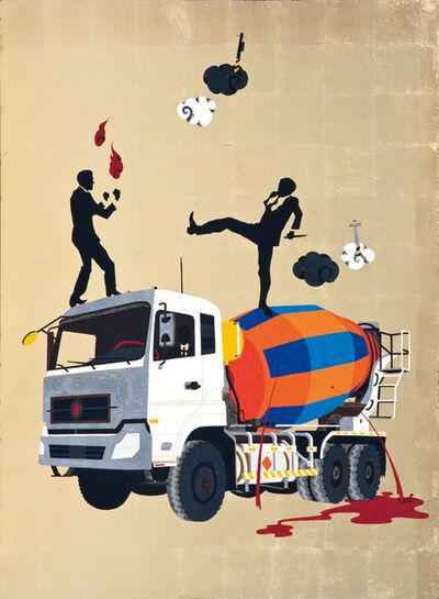 Chien-Chiang Hua, 'Ferocious people - Unhappiness Mixer', 2013