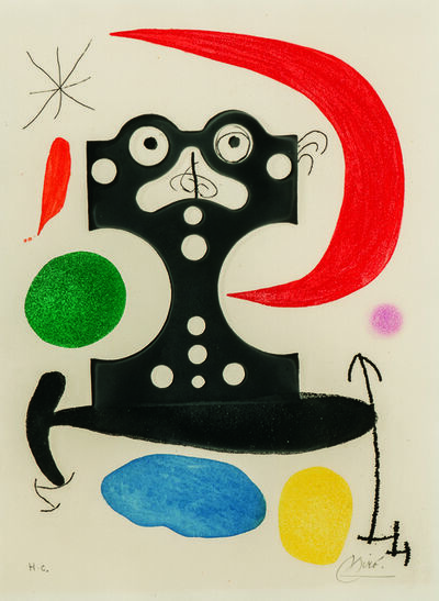 Joan Miró, 'Monument to Christopher Columbus and to Marcel Duchamp', 1968-1971