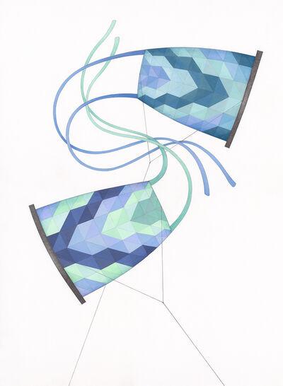 Becky Joye, 'Synchronized Swimmers', 2020