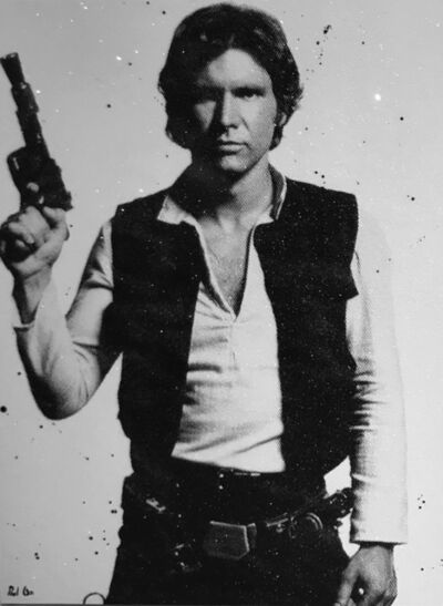 "Paul Oz, '""I Know"" (Han Solo)', 2017"