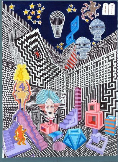 Pedro Friedeberg, 'El acoso de los dioses', 2016