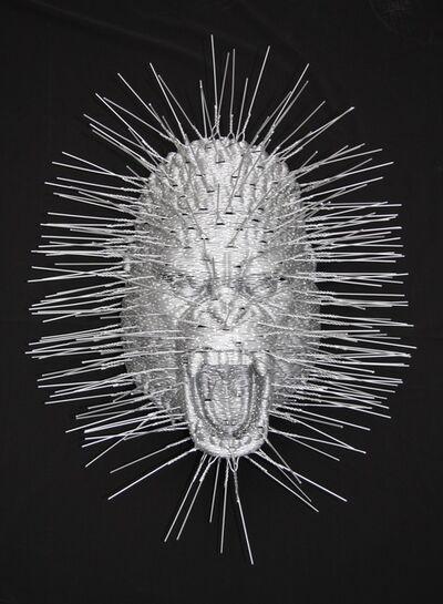 David Mach, 'Gorilla Head'