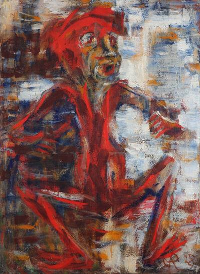 Christian Rohlfs, 'Das rote Männchen', 1928
