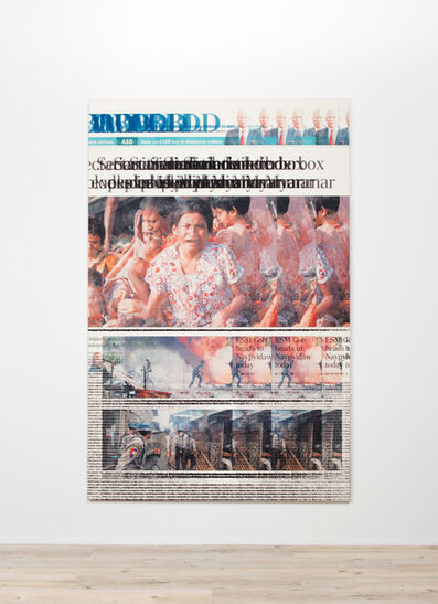 Heman Chong 張奕滿, 'The Straits Times, Tuesday, June 12, 2012, Page A8', 2018