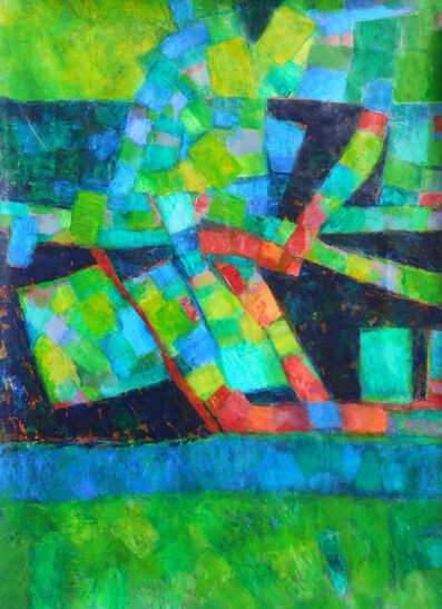 Sylvia Tait, 'Clusters/Green'