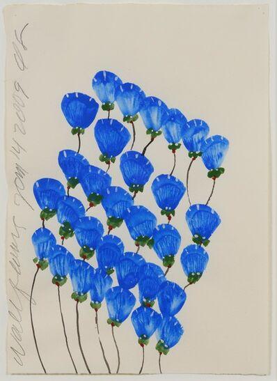 Donald Sultan, 'Wallflowers Jan 14 ', 2009