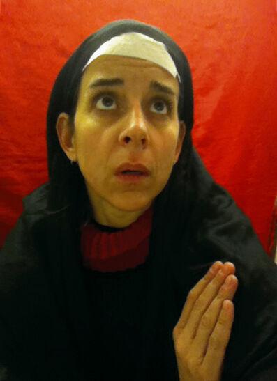 Nina Katchadourian, 'Lavatory Self-Portrait in the Flemish Style #6', 2011