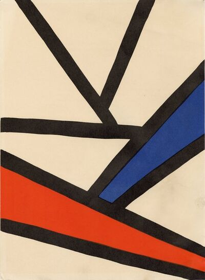 Alexander Calder, 'Derrière le Miroir #173 (Plate 3), Alexander Calder', 1968