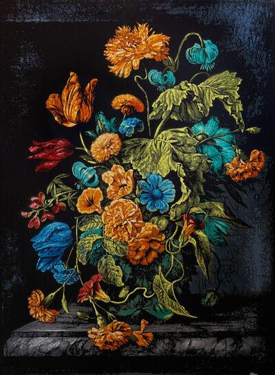Logan Hicks, 'Still Life with Flowers - Homage to Rachel Ruysch', 2019