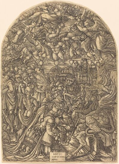 Jean Duvet, 'The Dragon and the Beast', 1546/1556