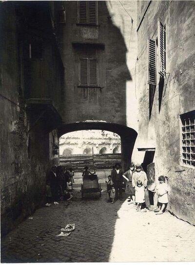 Unknown, 'Rome, Disappeared Saponari's Arch', 1920s