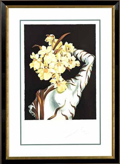 "Salvador Dalí, '""Surrealist Flower""Hand Signed Salvador DaliLithograph', 1941-1957"