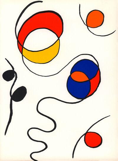 Alexander Calder, 'Alexander Calder Derrière le Miroir lithograph (1960s Calder prints) ', 1968