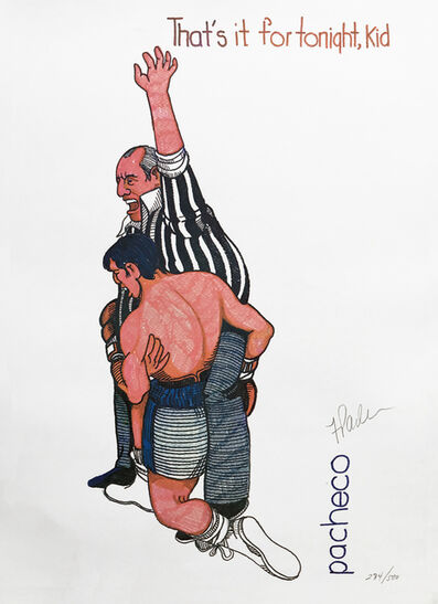Ferdie Pacheco, 'THAT'S IT FOR TONIGHT KID (BOXING)', ca. 1980