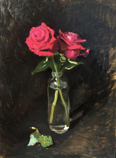 Amy Florence, 'Fuchsia Roses', 2020
