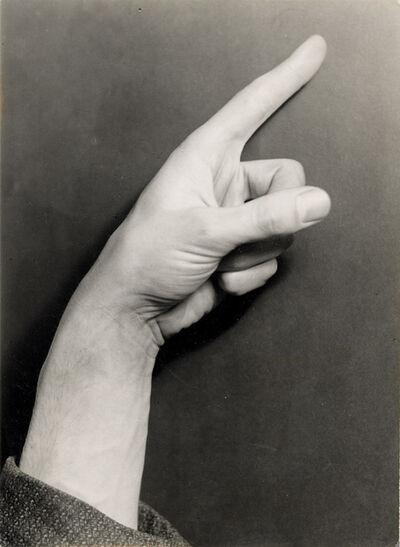 Elfriede Stegemeyer, 'Otto´s Hand', 1933