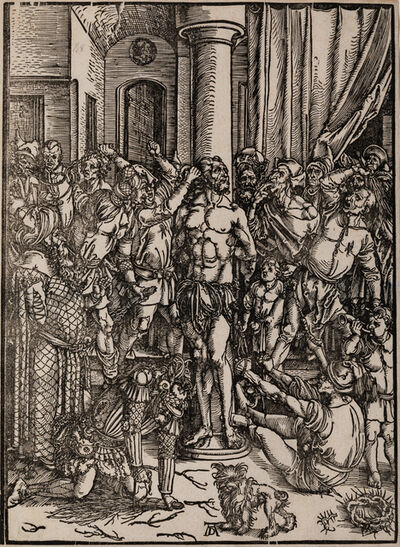 Albrecht Dürer, 'The Scourging of Christ and Christ on the Mount of Olives'