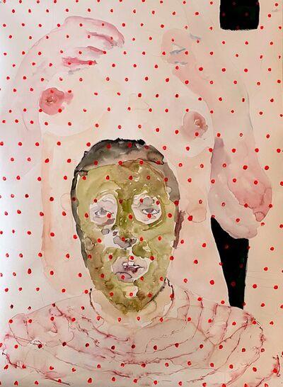 Ivan Bridges, 'Green Face Mask, Torso', 2020