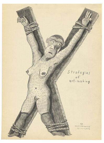 Tassos Pavlopoulos, 'Strategies of Art-Making', 2012