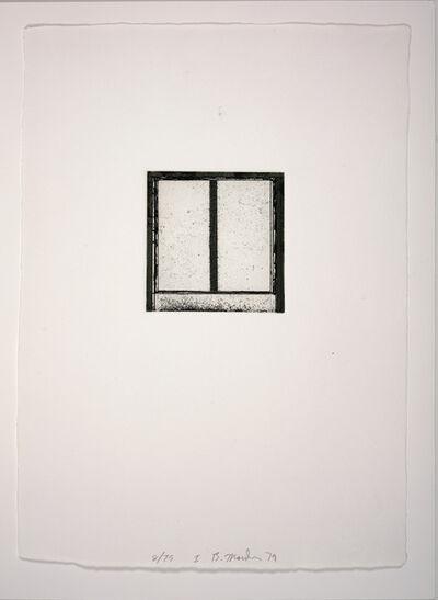 Brice Marden, 'Focus I', 1979-1980