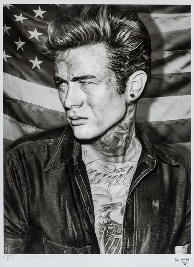 JJ Adams, 'James Dean Tattoo', 2015