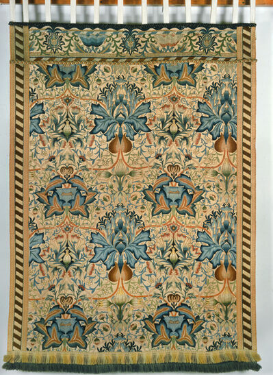 William Morris (1834-1896), 'Artichoke embroidered wall-hanging', 1877-1900