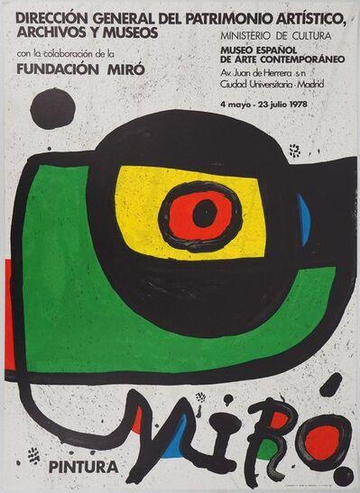 Joan Miró, 'Miro. Pintura', 1978