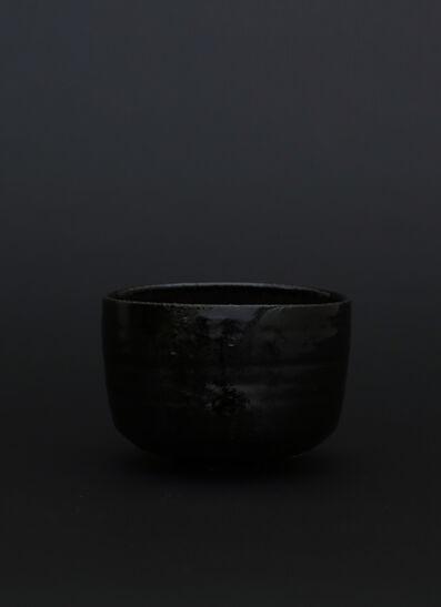 AKIO NIISATO, 'Black tea bowl', 2018