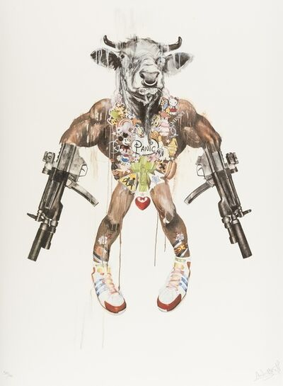 Antony Micallef, 'Mythic Weapon - Improvised Minotaur', 2007