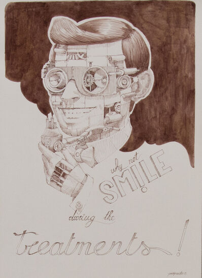 Pixel Pancho, 'Why Not Smile During the Treatments', 2015