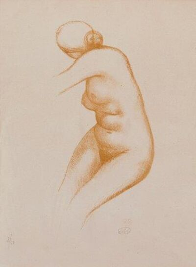 Aristide Maillol, 'Untitled (Nude)'