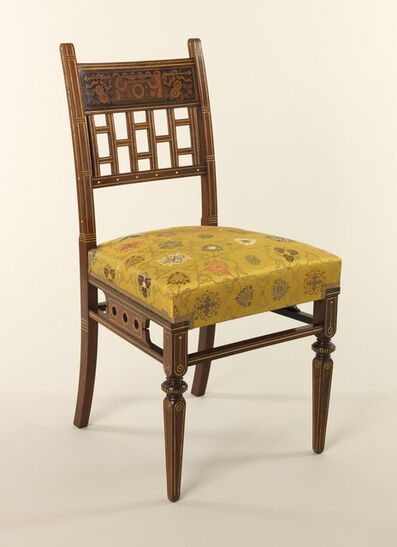 Herter Brothers, 'Mark Hopkins House side chair', 1878-1880