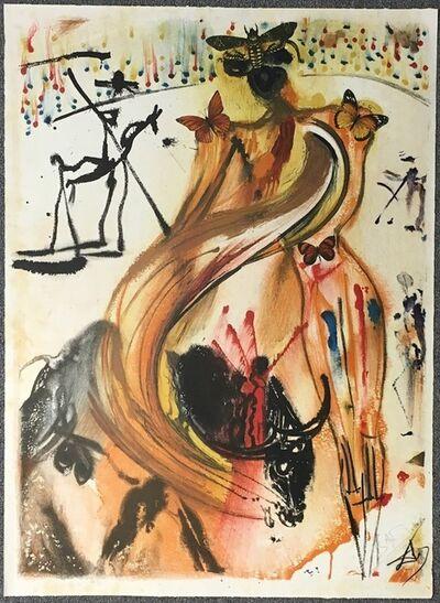 Salvador Dalí, 'Tauromachie Aux Papillons', ca. 1970