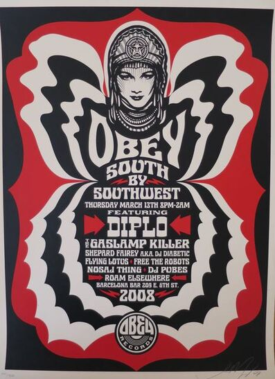 Shepard Fairey, 'South by SouthWest', 2008