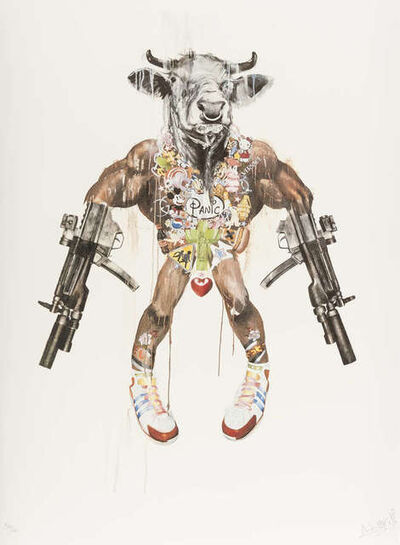 Antony Micallef, 'Mythic Weapon - Improvised Minotaur from Impure Idols ', 2007