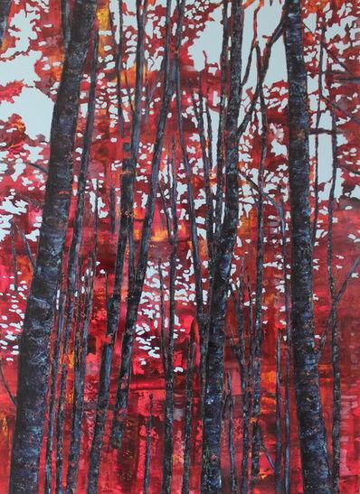 Szilárd Cseke, 'Blue Sky (red)'