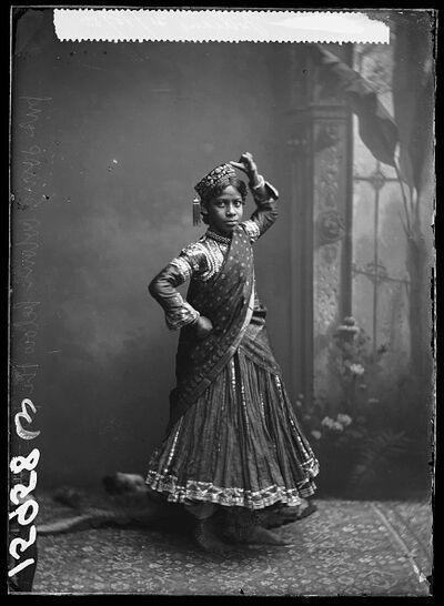 London Stereoscopic Co., 'Nautch Girl', 1885