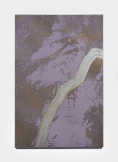 Tony de los Reyes, 'Border Theory (rio grande/metallic river)', 2016