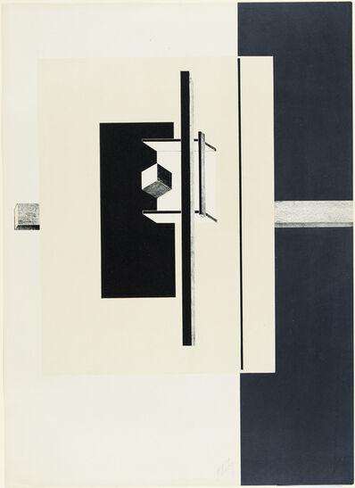 El Lissitzky, '1o Kestnermappe Proun [Proun. 1st Kestner Portfolio]', 1923
