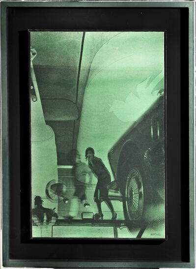 Mimmo Rotella, 'Ritratto', 1966