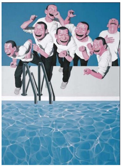 Yue Minjun, 'Take the Plunge (from Snatched Ecstasy)', 2009