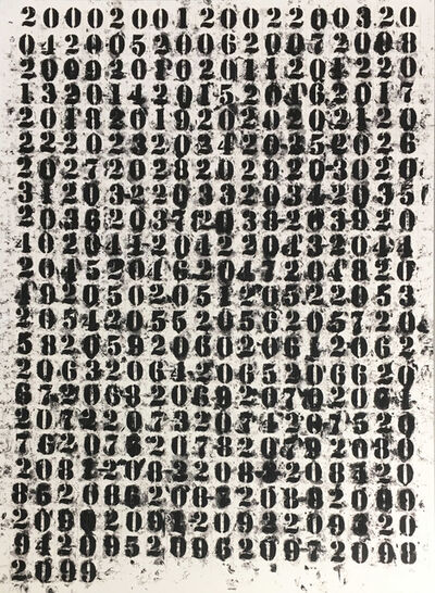 Glenn Ligon, '200 - 2099', 2011