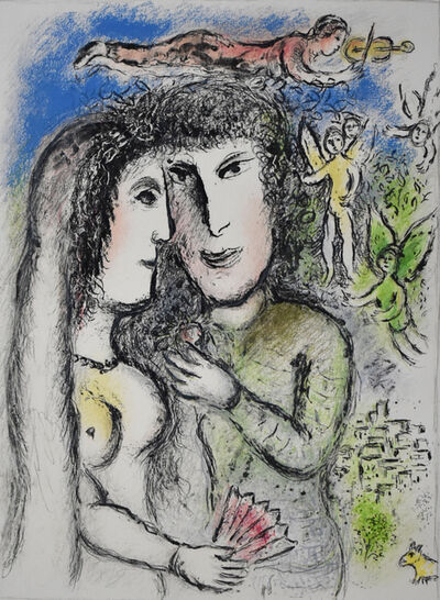 Marc Chagall, 'The Angel Violinist | L'Ange violoniste', 1975