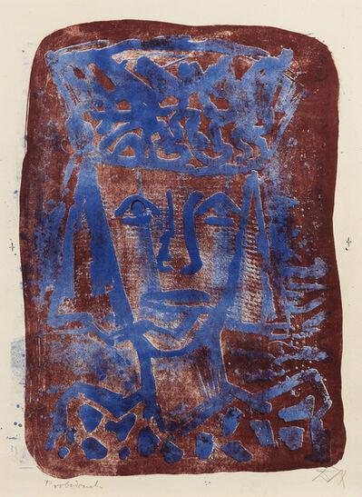 Otto Dix, 'Verschleierte', 1961