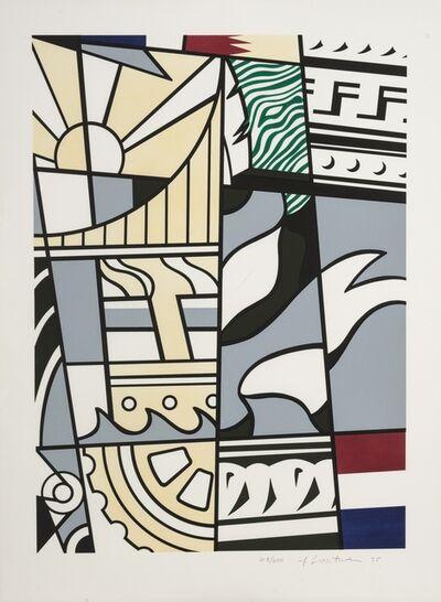 Roy Lichtenstein, 'Bicentennial Poster (America: The Third Century) (Corlett III.26)', 1976