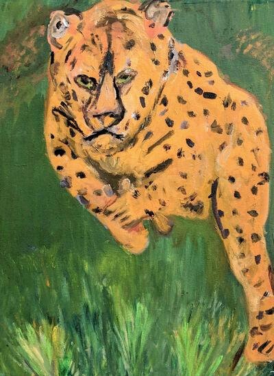 Marjorie Magid, 'Leaping Leopard', 2016