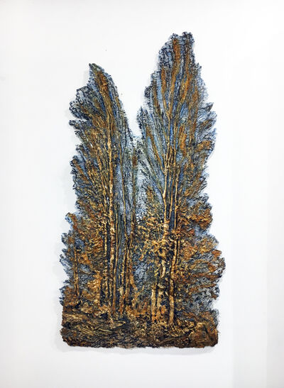 Lesley Richmond, '2 Poplars', 2015