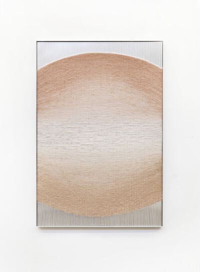 Mimi Jung, 'Blush to Tan Ellipse', 2019